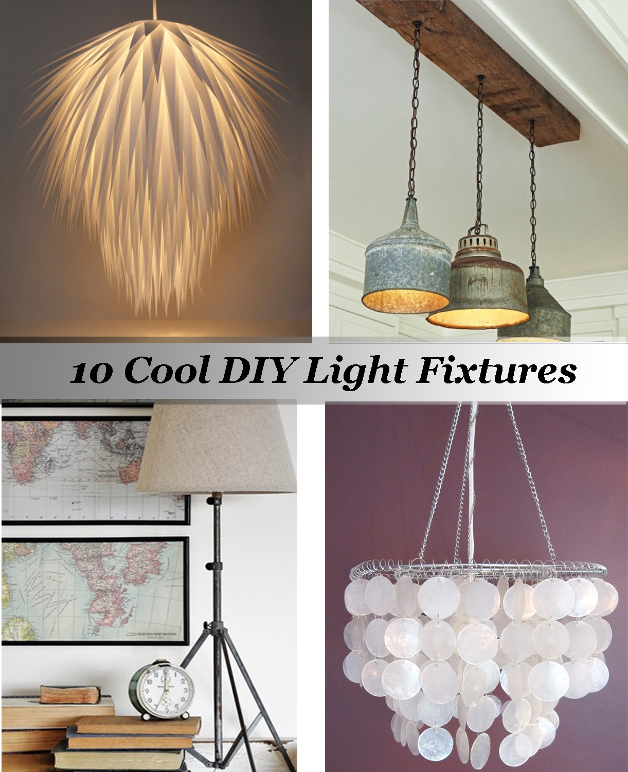 Diy lighting fixtures