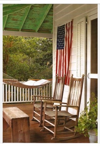 Farmhouse porches