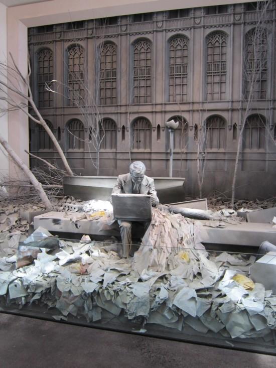 9-11 sculpture