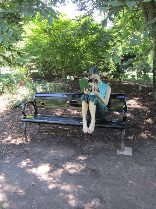 shady statue