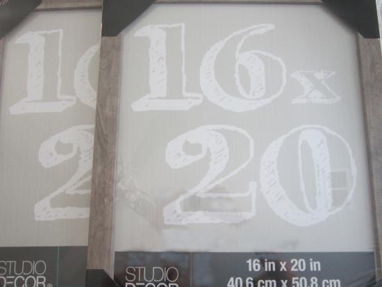 16 X 20 Frames