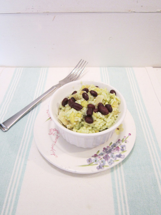Avocado Rice and beans