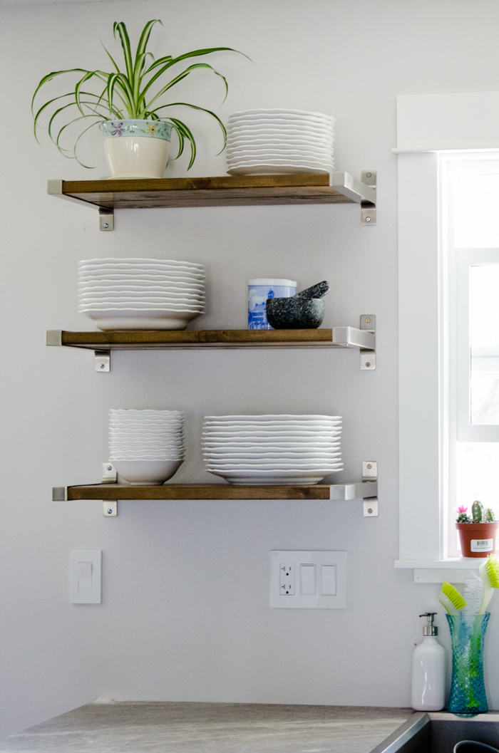Floating Shelves - The Honeycomb Home