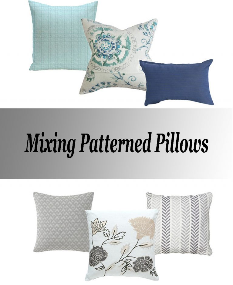 Mixing Patterned Pillows