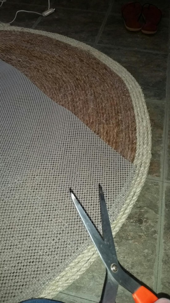 rug backing