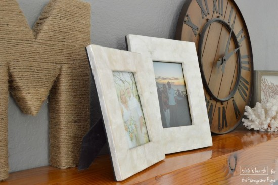 Emily from Table & Hearth shares some easy ways to bring coastal style to your home!!