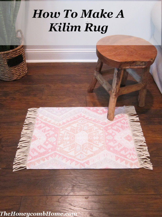 How-To Make A Kilim Rug