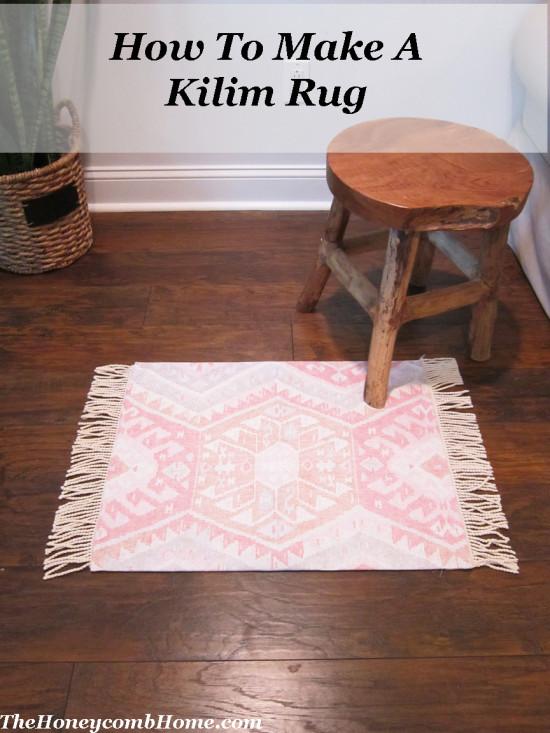 How-To Make A Kilim Rug
