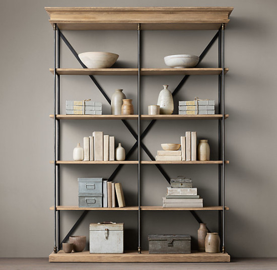 Restoration hardware shelves