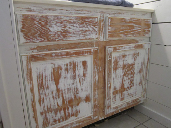 cabinets sanding