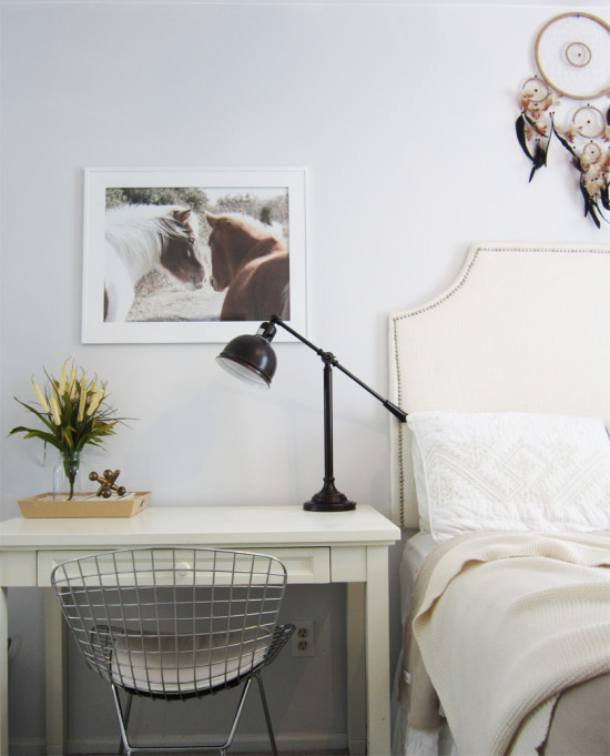 Adding Fall Accents in the bedroom