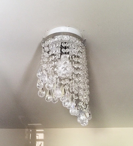 How to Fake A Chandelier