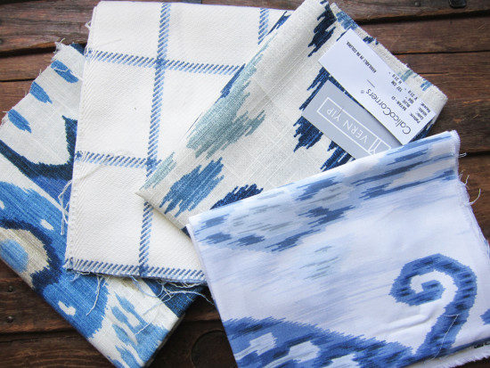 Large-Fabric-Samples-in blue and white
