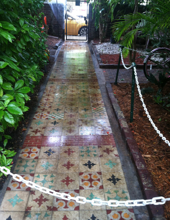 Tile Pathway