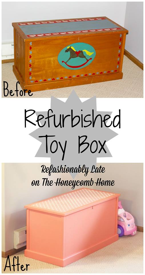 Toy Box Before and After