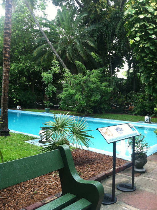 side view pool