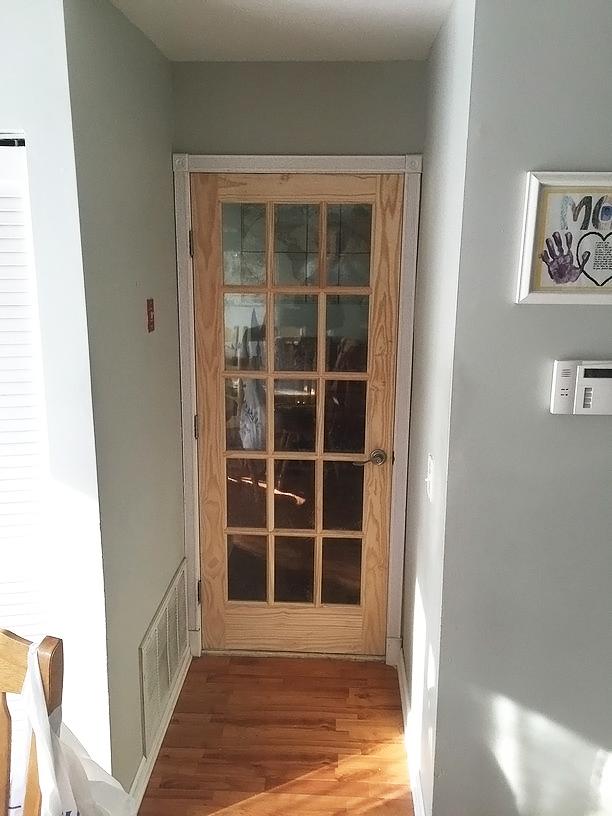 Kitchen Door Makeover The Honeycomb Home