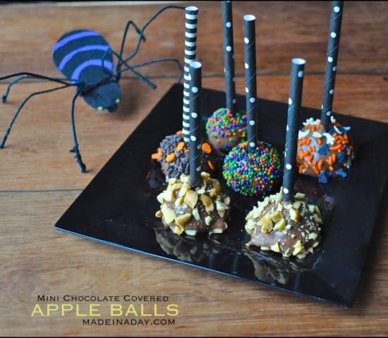 Mini-Chocolate-Covered-Apple-Balls-Recipe-madeinaday.com_-650x566