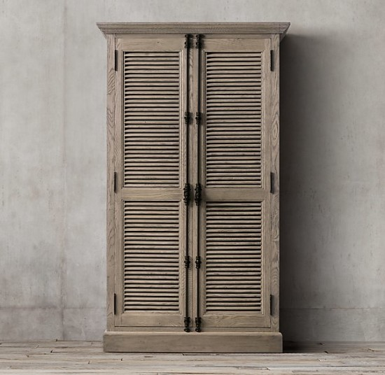 Restoration Hardware Cabinet