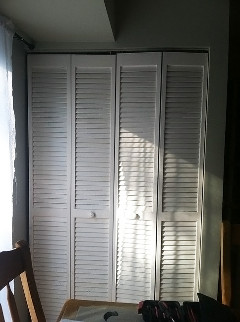Shutter Doors Before