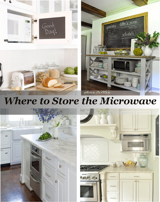 Where to Store the Microwave