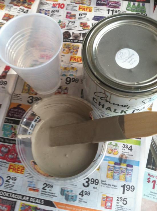 annie sloan chalk paint cocoa
