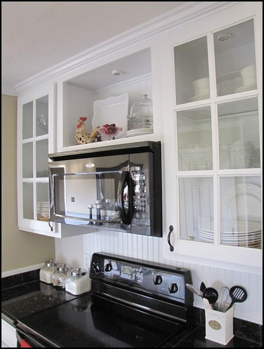 Cover Space Above Kitchen Cabinets