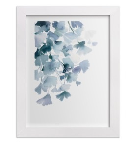 Blue minted ginko