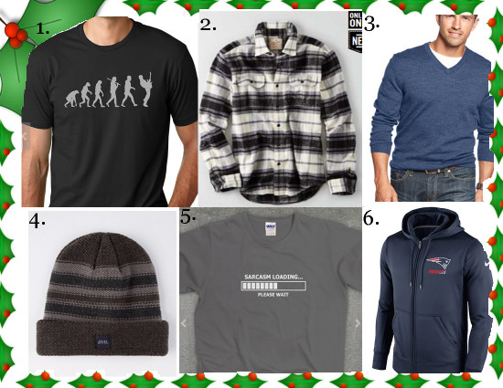 Gift Guide-Apparel for him