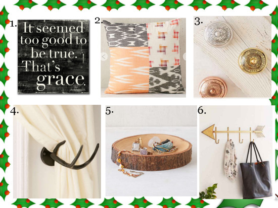 Gift Ideas - for the home