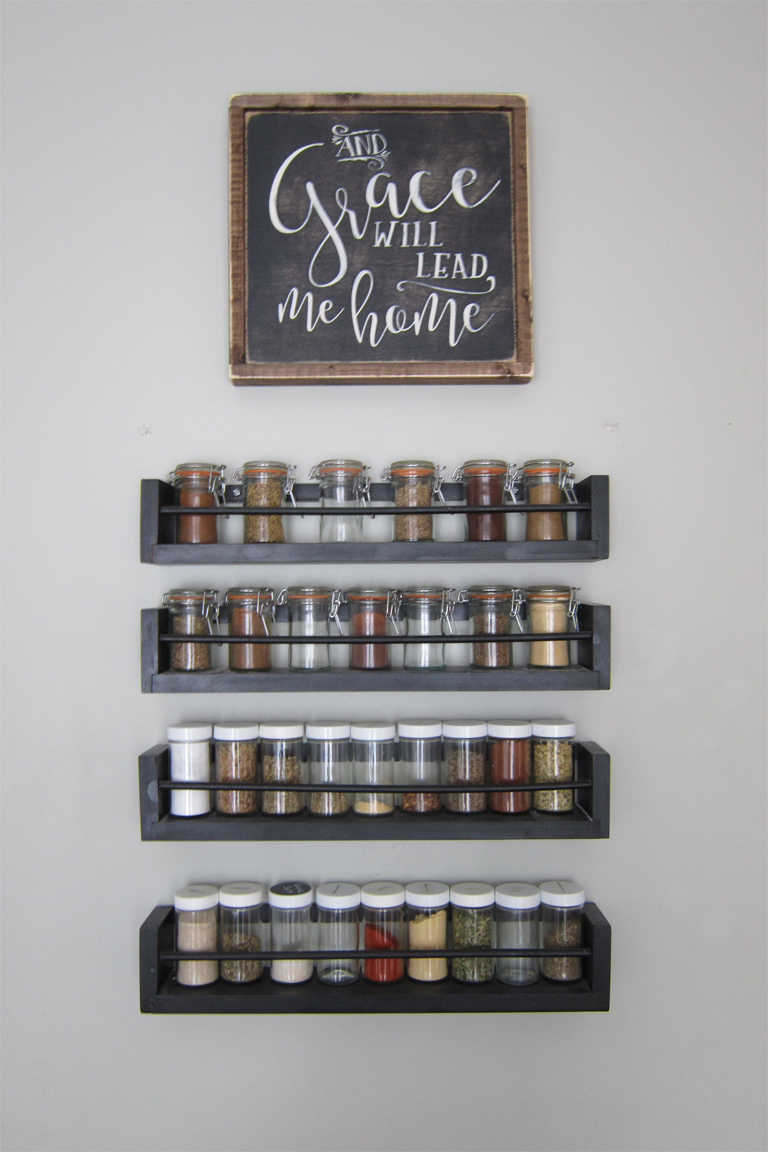 Small changes big impact the honeycomb home for Small kitchen wall art
