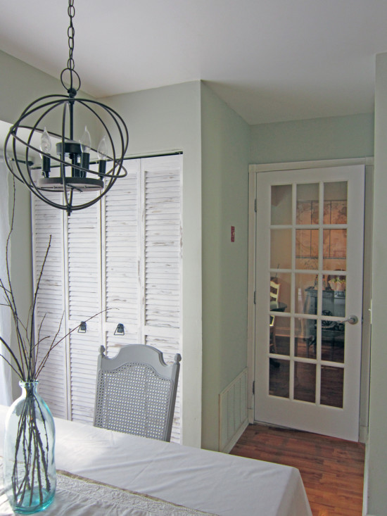 Shuttered Door Makeover