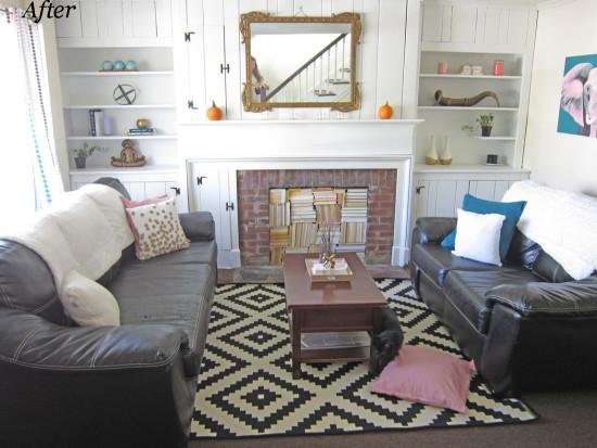 After - Justine's Living Room