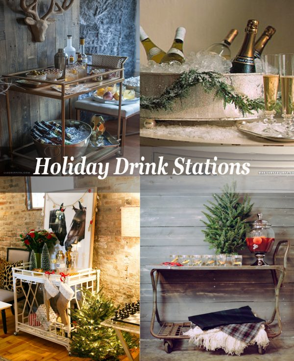 Holiday Drink Stations