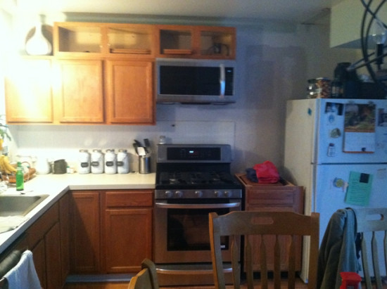 Kitchen in progress