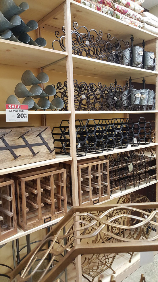 World Market Wine Storage Crates