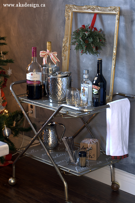 holiday drink station aka designs