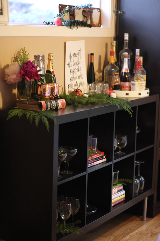 holiday drink station