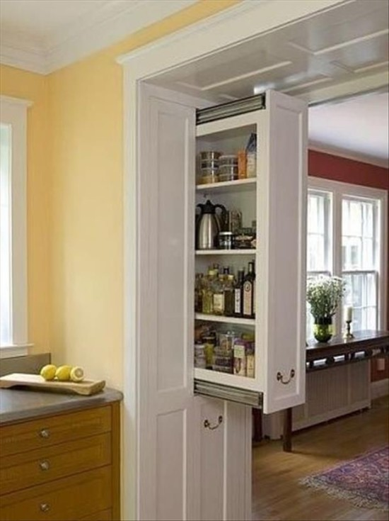 slide out pantry for small kitchens
