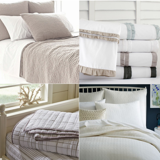 Neutral Bedding to ground any room