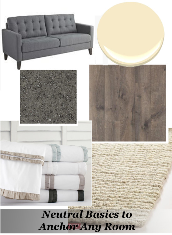 Neutral Basics to Anchor Any Room