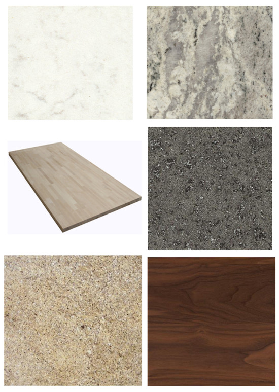 Neutral Countertop options