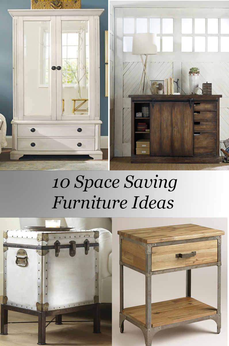 10 space saving furniture ideas for Small space furniture ideas