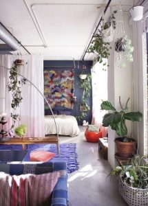 Cool Bohemian Styled space