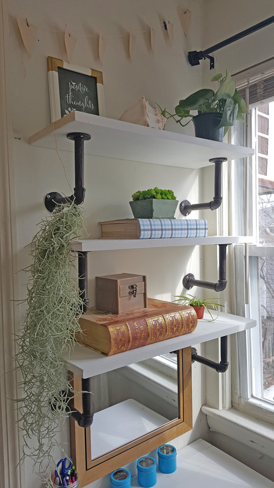 How to make your own shelves