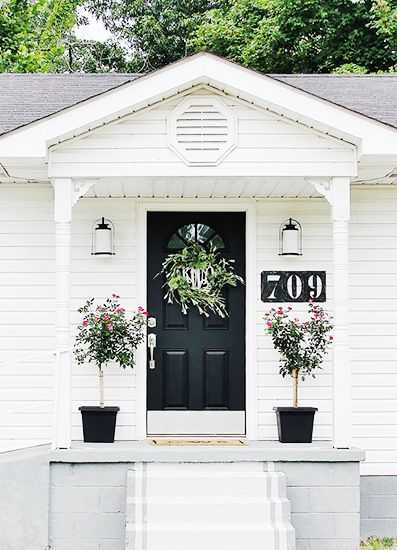 Large House Numbers, Curb Appeal tips