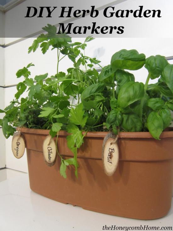 DIY Herb Garden Markers