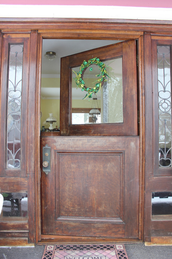 Wood dutch doors pictures to pin on pinterest pinsdaddy for Dutch door lowes