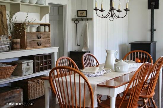 Farmhouse dining room Farmhouse 5540