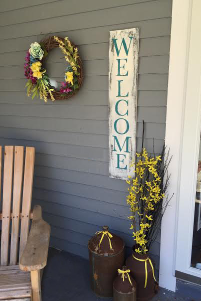 Farmhouse Welcome Sign Etsy